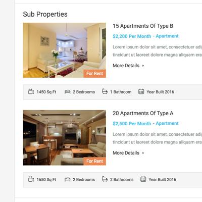 Sub Properties